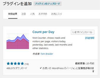 プラグイン[Count per Day]